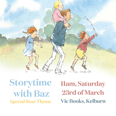 Bear Themed Storytime with Baz