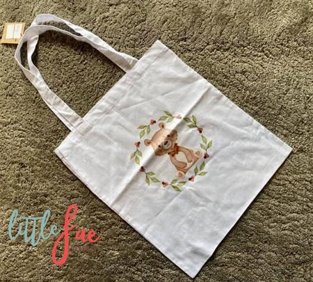 Bear Tote Bag 2
