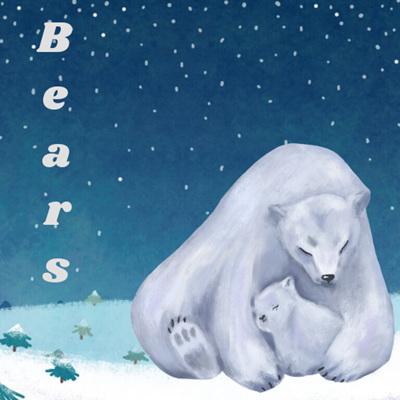 Bears: Brown, Polar, Koala & Panda