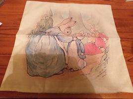 Beatrix Potter Cushion Cover