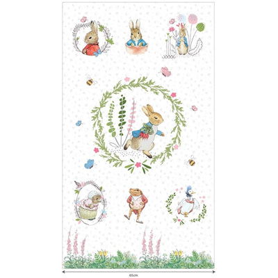 Beatrix Potter - Peter Rabbit Panel
