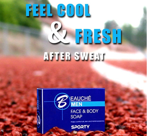 Beauche Men Face and Body Soap