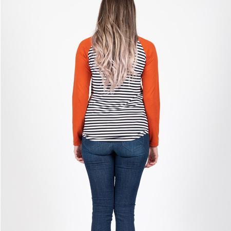 Beaut Long Sleeve Top - Rust