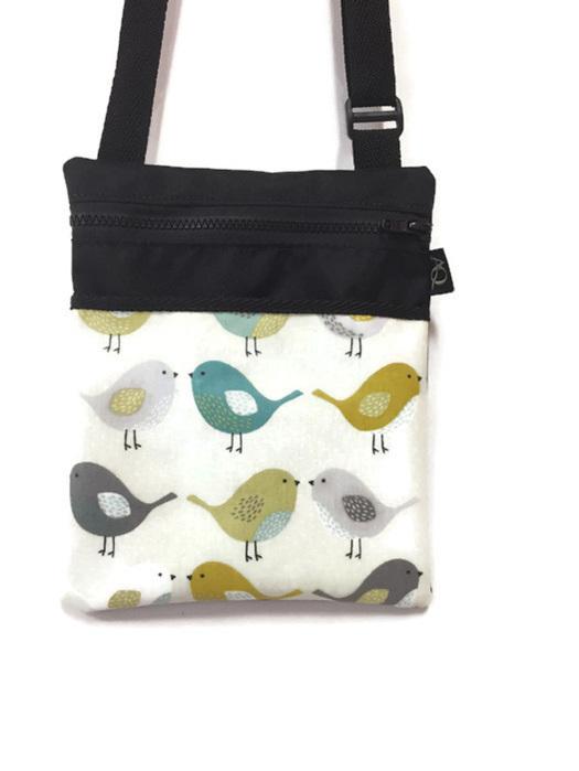 Beautiful bird handbag