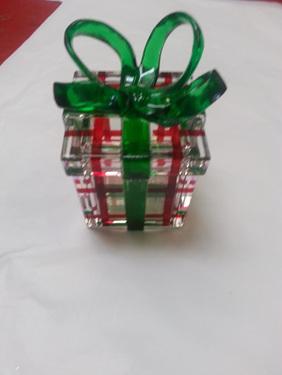 Beautiful gift box - christmas decoration