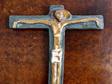 Beautiful Modernist Ceramic Crucifix