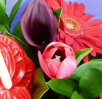 Red Tones Bouquet