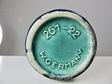 Beautiful Vintage Blue and Turquoise Scheurich Prisma West German Vase