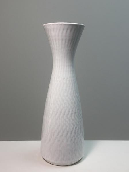 Beautiful Vintage Hour Glass Shaped West German Vase