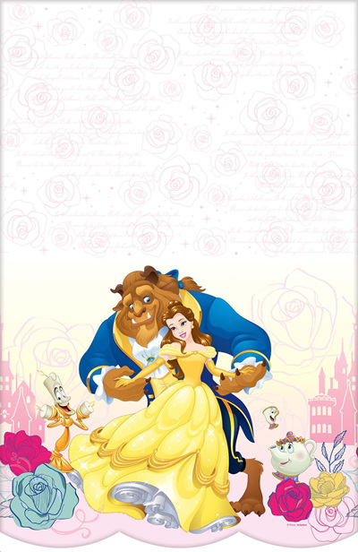 Beauty & The Beast tablecover