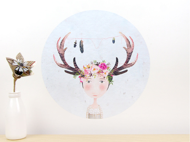 Because I'm a Wild Animal wall decal