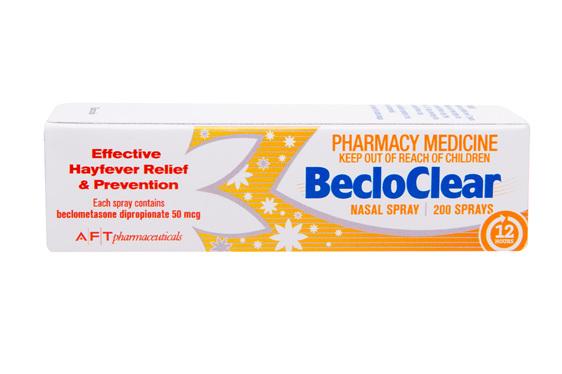 BecloClear Nasal Spray Solution 50mcg