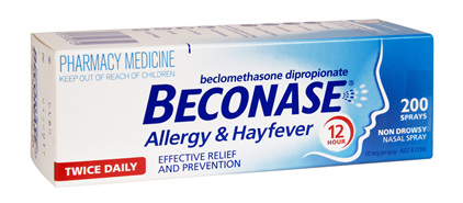 BECONASE Allergy and Hayfever 50mcg