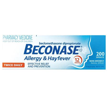 Beconase Allergy and Hayfever Nasal Spray 200 Doses