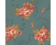 Bed of Roses - Dahlia Dusty Blue