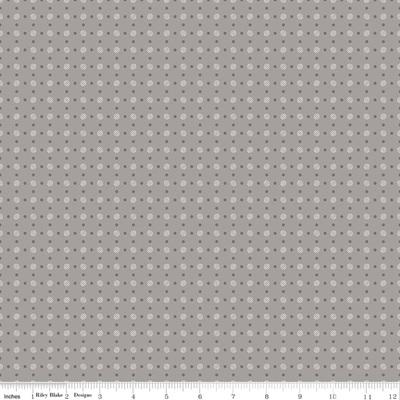 Bee Basics - Grey Dots