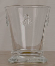 Bee Glass Short Tumbler Boxed Set of 6