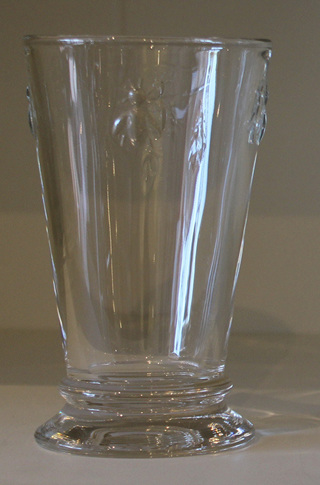 Bee Glass Tall Tumbler Boxed Set of 6