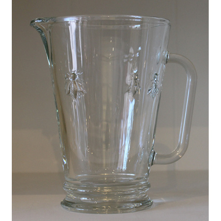 Bee Glassware Water Jug