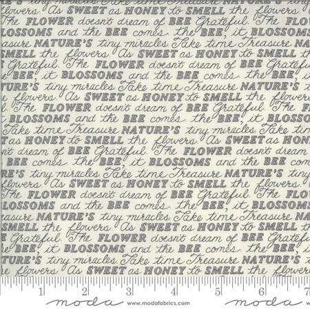 Bee Grateful Dove Grey Sweet Words 19963-14