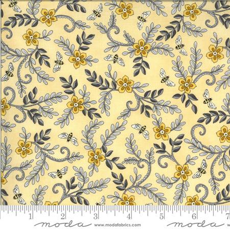 Bee Grateful Honey Yellow Flowers Vines & Bees 19964-12