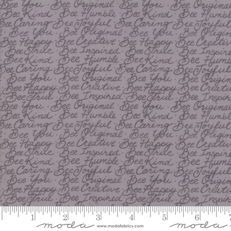 Bee Joyful Bee Words Dove Grey 1987615