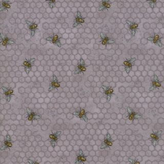 Bee Joyful Grey Honeycomb 1987414
