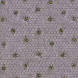 Bee Joyful Grey Honeycomb 1987414