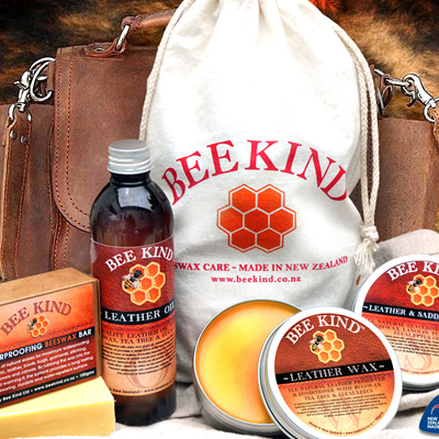 Bee Kind - Beeswax Leather Care KIT