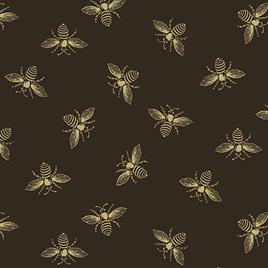 Beehive Bees Black A-9084-K