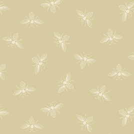 Beehive Bees Parchment A-9084-L