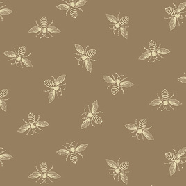 Beehive Bees Tan A-9084-N