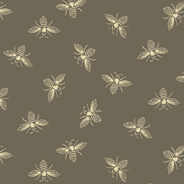 Beehive Bees Taupe A-9084-N1