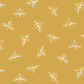 Beehive Bees Yellow A-9084-Y