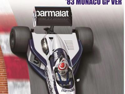 Beemax 1/20 Brabham BT52 1983 Monaco GP