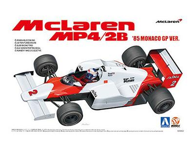 Beemax 1/20 McLaren MP4/2B '85 Monaco GP