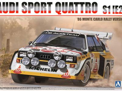 Beemax 1/24 Audi Quattro S1 1985 Monte Carlo Rally