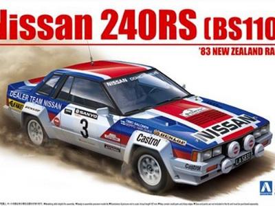 Beemax 1/24 Nissan 240RS '83 New Zealand Rally Ver.