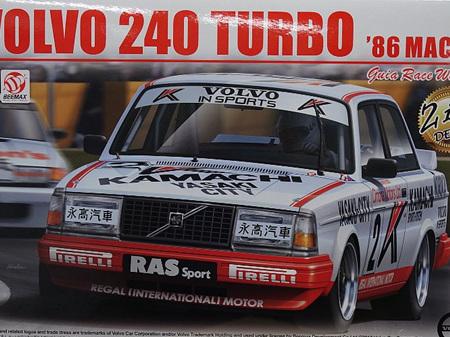Beemax 1/24 Volvo 240 Turbo 1986 Macau