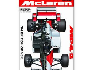 Beemax 1/20 McLaren MP4/2 British GP