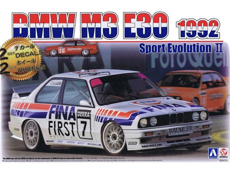 Beemax 1/24 BMW M3 E30 Sport Evolution II 1992