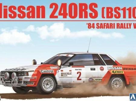 Beemax 1/24 Nissan 240RS BS110 1984 Safari Rally (BEE24014)