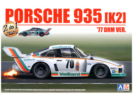 Beemax 1/24 Porsche 935 (K2) '77 DRM Version (BEE24015)