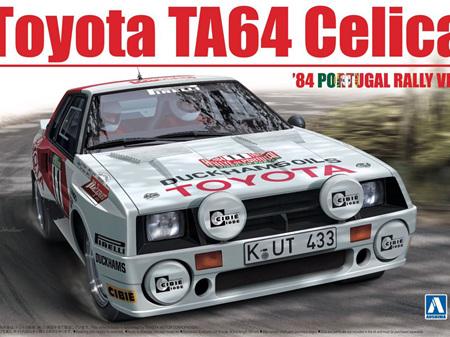 Beemax 1/24 Toyota TA64 Celica 84' Portugal Rally Ver.