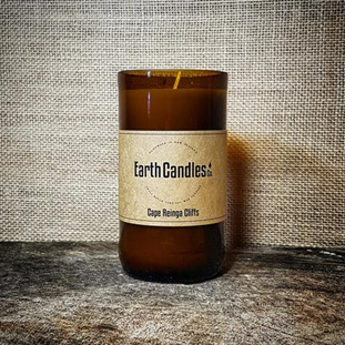 Beer Bottle 7oz Earth Candle  (Cape Reinga)