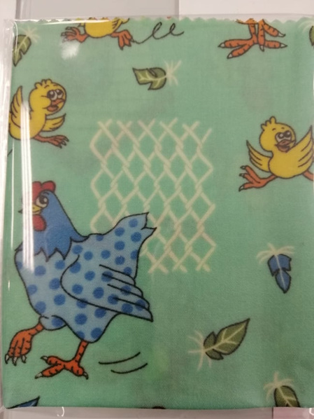 Bees Wax Wrap - Large Chickens