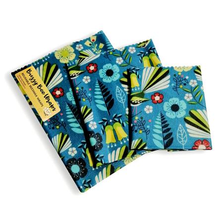 Bees Wax Wrap - Medium Fantail