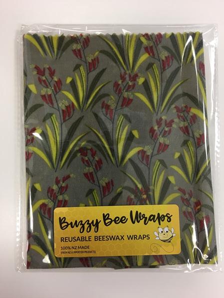 Bees Wax Wrap - Medium Flax