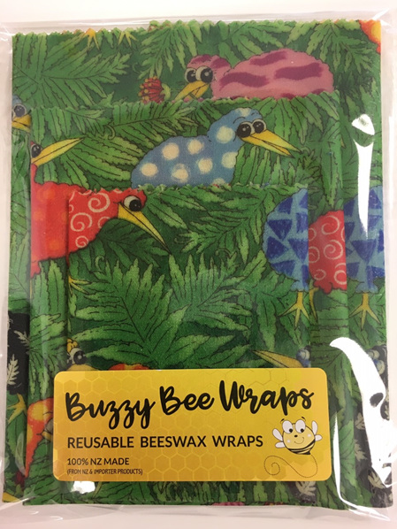 Bees Wax Wrap - Pack of 3 - Kiwi