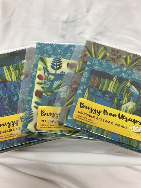 Bees Wax Wrap - Pack of 3 - Random Selection